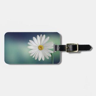 Pretty Daisy Luggage Tag
