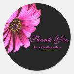 Pretty Daisy Wedding Favour Label Stickers