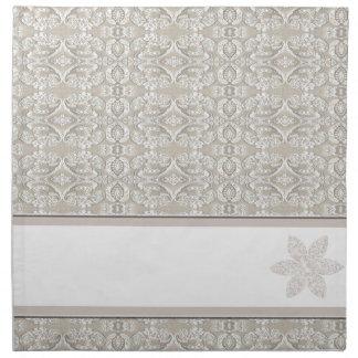 Pretty Damask Lace Design Napkin