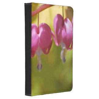 Pretty Dangling Bleeding Heart Flowers Kindle 4 Cover