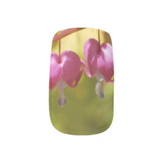 Pretty Dangling Bleeding Heart Flowers Minx ® Nail Wraps