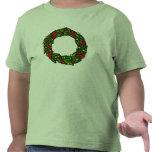Pretty decorated wreath shirts