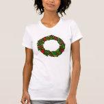 Pretty decorated wreath t-shirt