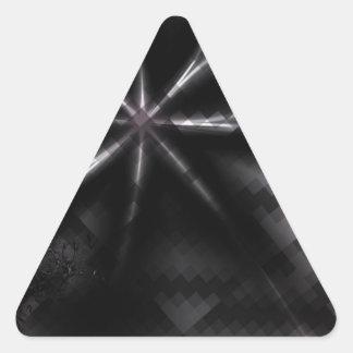 Pretty Desire Bow Art Triangle Sticker