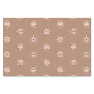 Pretty dusty rose daisies tissue paper