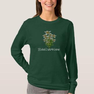 Pretty Edelweiss Flowers Custom T-Shirt