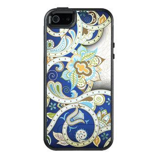 Pretty Elegant Vintage Nouveau Deco Floral Pattern OtterBox iPhone 5/5s/SE Case