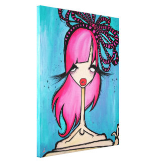 """""""Pretty Eyed"""" Wrapped Canvas, 16x20 Canvas Print"""