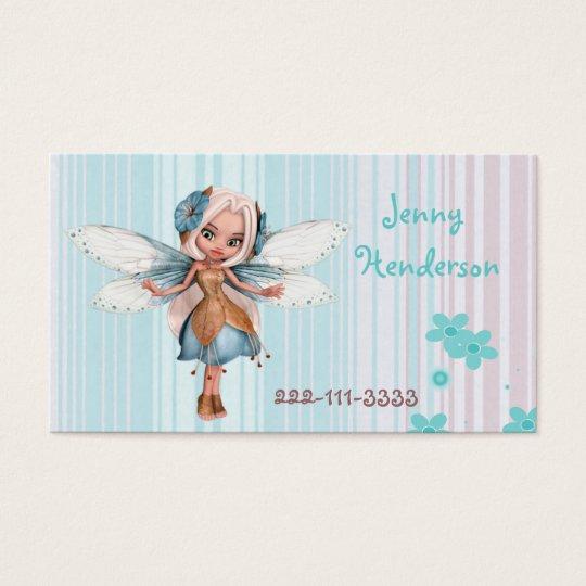 Pretty Fairy Girl's calling card