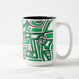Pretty Famous Effervescent Generous Two-Tone Mug
