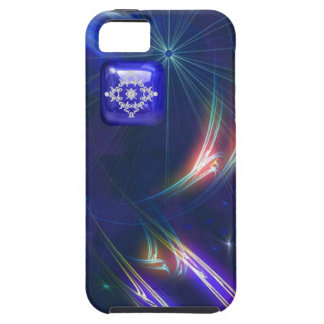 Pretty Fantasy Patterns Jeweled Look Tough iPhone 5 Case