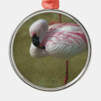 Pretty Flamingo Christmas Ornament