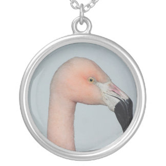 Pretty flamingo necklace