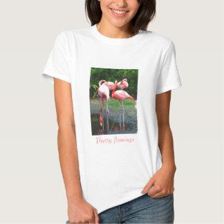 Pretty flamingo t-shirts