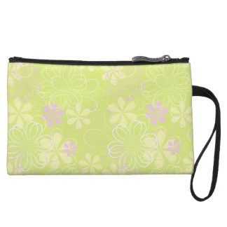 Pretty  Floral Clutch Bag