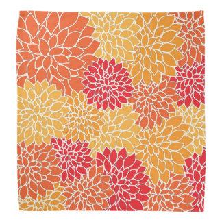 Pretty Floral Design Bandanna