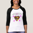 PRETTY FLORAL GALATIANS FRUITS OF THE SPIRIT T-Shirt