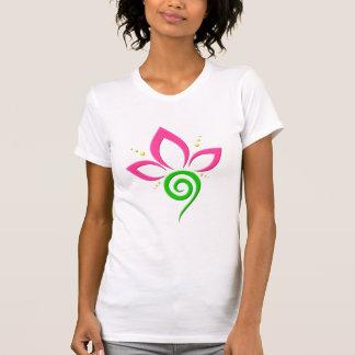 Pretty Floral Icon Design T-Shirt