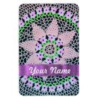 pretty floral lace magnet