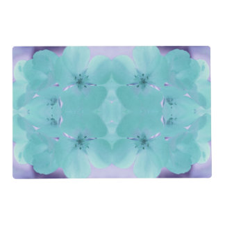 Pretty Floral Laminated Reversible Placemat Laminated Placemat