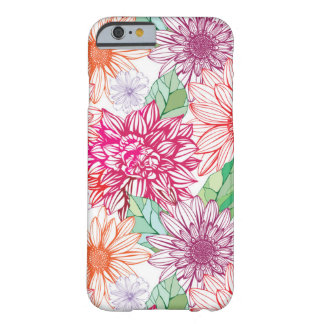 Pretty Floral Patterned Phone Case