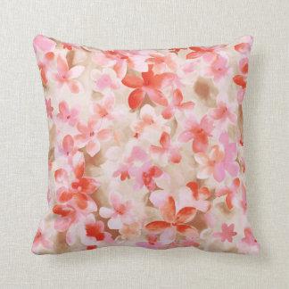 Pretty floral pillow cushions