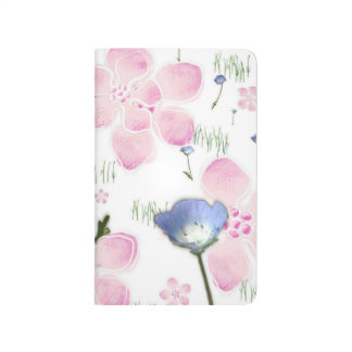 Pretty Floral Print Notebook