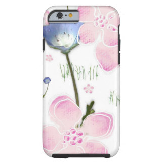 pretty floral print phone cover