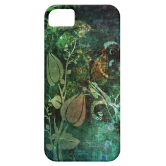 Pretty Floral Vine Abstract Grunge Design iPhone 5 Covers