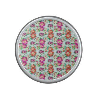 Pretty Floral Wallpaper Pattern Speaker