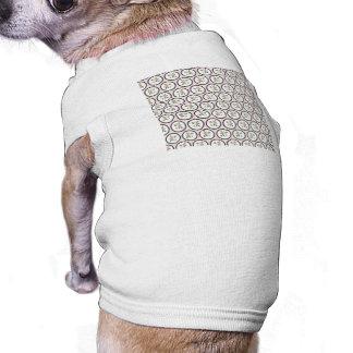 Pretty Floral Wallpaper Sleeveless Dog Shirt