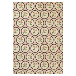 Pretty Floral Wallpaper Wood Poster