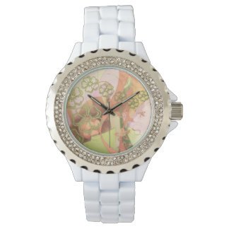 Pretty Floral Wristwatch