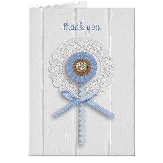 Pretty Flower, General Thank You Greeting Card