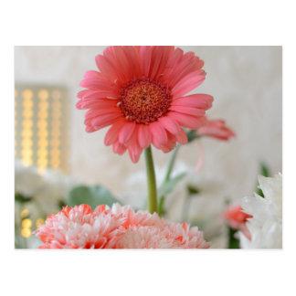Pretty Flower Greetings Postcard