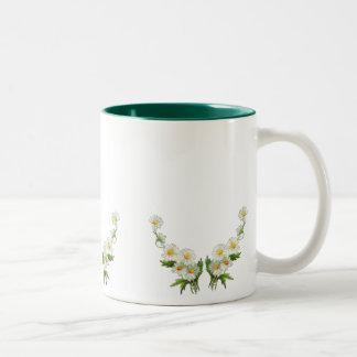 Pretty Flower mug simple elegant