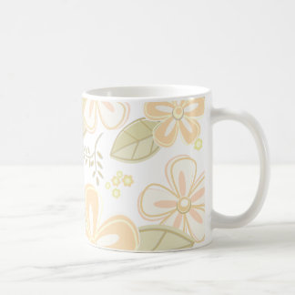 Pretty Flower Pattern Coffee Mug