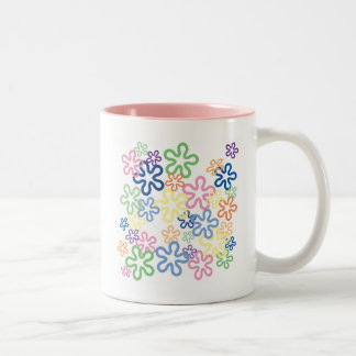 Pretty Flower Power Mug