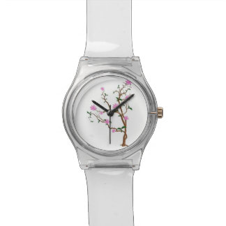 pretty flower watch