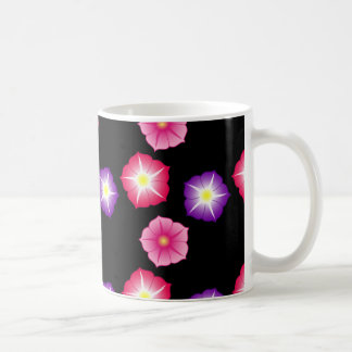 Pretty Flowers Abstract Design Coffee Mug