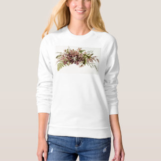 Pretty Flowers Chic Floral Many Product Styles Sweatshirt