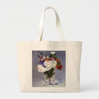 Pretty Flowers in a Crystal Vase Jumbo Tote Bag