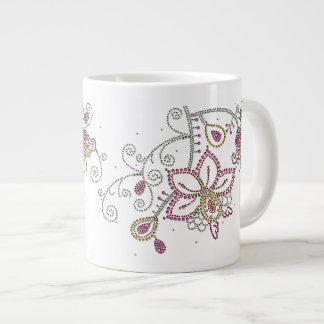 Pretty Flowers Jumbo Mug