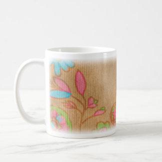 Pretty Flowers Classic White Coffee Mug
