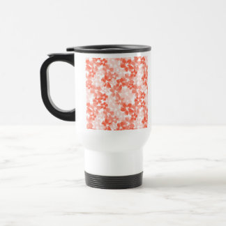 Pretty Flowers Stainless Steel Travel Mug