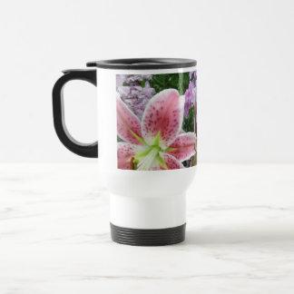 Pretty Flowers Travel Mug