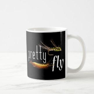 Pretty Fly, Funny Fishing Design Coffee Mug