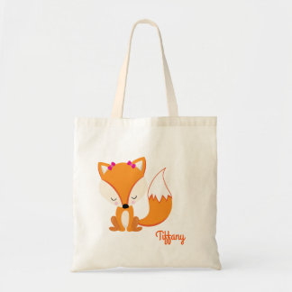Pretty Fox Customize Tote Bag