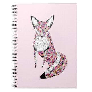 Pretty fox note books