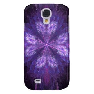 Pretty fractal butterfly flower shape galaxy s4 case